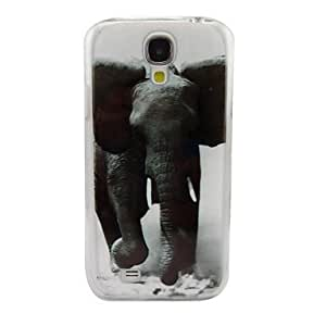 Un Patrón Mighty Elefante PC de nuevo caso para Samsung S4/I9500