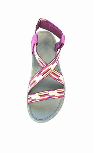 Teva - Sandalias de vestir de Material Sintético para mujer rosa TACION PURPLE