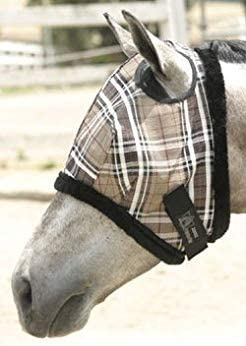Fly Mask with Fleece trim