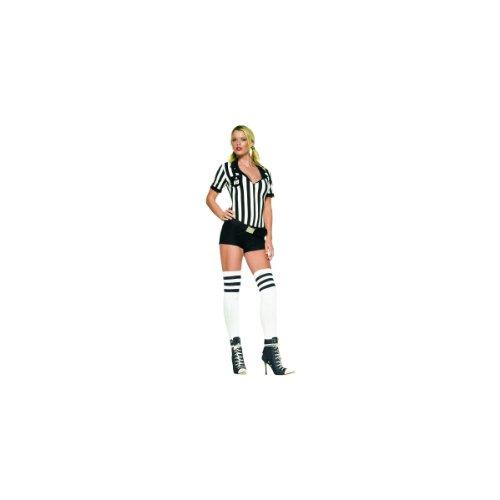 Leg Avenue Sexy Referee Romper Costume - Small/Medium ()