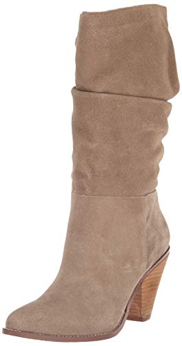 - Chinese Laundry Women's Stella Mid Calf Boot, Mink Suede, 7 M US