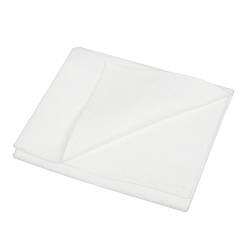 White Chamois - uxcell White Synthetic Chamois Auto Car Cleaning Cham Towel 50cm x 40cm