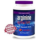 L-Arginine Infusion Jumbo Jar 66oz = 6 11oz jars $29.99 per jar- Natural formula for Cardio Health 5000mg L-Arginine, 1000mg L-Citrulline, 50mg CoQ10, & 50mg AstraGinTM Per Serving