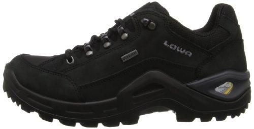 Lowa - Zapatillas para niña Black-Black