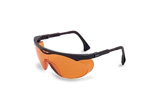 S1933X Skyper Safety Eyewear, Black Frame, SCT-Orange UV Extreme Anti-Fog Lens