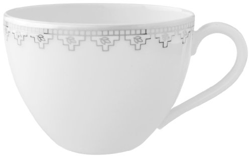 Villeroy & Boch White Lace 6-3/4-Ounce Teacup ()