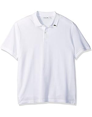Men's Short Sleeve Holiday Animation Cotton Pique Polo Shirt