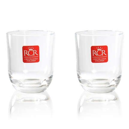 Rcr Crystalleria Italiana 247210 Set Of 2 Liqueur/Shot Glasses by RCR Cristalleria Italiana