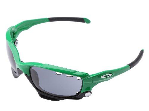 Oakley Men's Jawbone Sport Sunglasses (Team Bright Green Frame/Grey Lens)