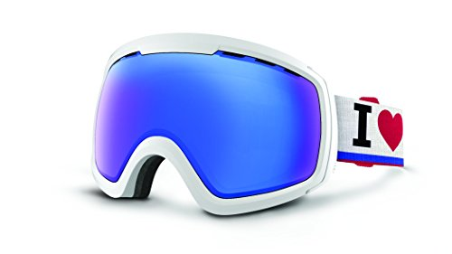 VonZipper Feenom N.L.S. Goggles, White Gloss/Sky Chrome (Feenom)