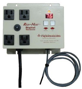 Solar Gem Greenhouse RDT 4 Thermostat