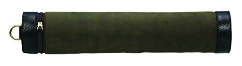 Baron Country Suède Etui pour Lunettes de Fusil Mixte Adulte, Vert