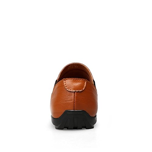 shoes Mocassini Shufang Brown Uomo Red Fpxxqw