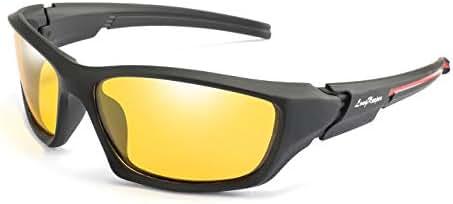 Polarized Wrap Around Sport Sunglasses Cycling Running Driving Baseball Glasses Long Keeper
