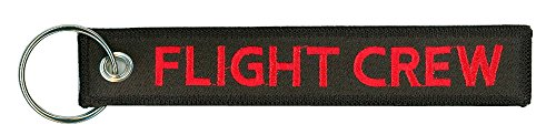 Flight Crew Embroidered Key Chain product image
