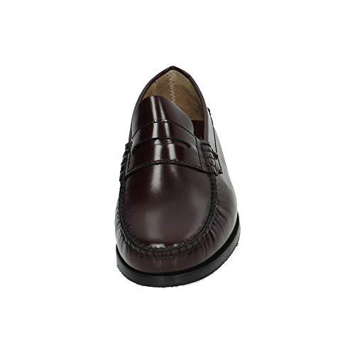 Zapatos Burdeos Shoes Mocasín 7000 H Piel F Mocasines Hombre De qxw6BvU