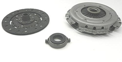 E32-1258-B - Early / Swing Axle 200 mm Clutch Kit - Throw Out Bearing, Clutch Disc, Pressure Plate - VW Dune Buggy Bug Ghia Thing Bus Trike Baja (Clutch Pressure Plate)