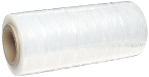 (Goodwrappers PVT18060 Linear Low Density Polyethylene Clear Cast Hand Stretch Wrap On a 3