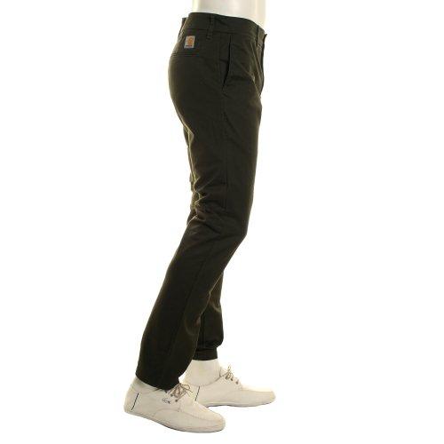 Carhartt Homme Pantalon Large Vert Cypress Rinsed rr615znqv