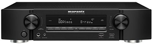 (Marantz AV Audio & Video Component Receiver Black (NR1608), Works with Alexa)