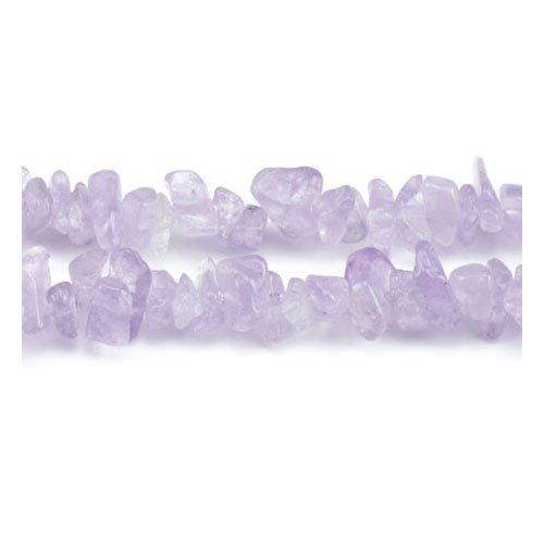 Charming Beads Lungo Fili 240 Lilla Ametista Cape 5-8mm Chips Tagliato a Mano Perline GS5202