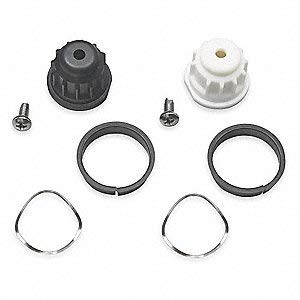Handle Adapter Kit for Moen Monticello 2 Handle Roman Tubs, Mini Widespreads, Centersets, Bar Faucet ()