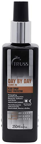 TRUSS Day By Day Heat Protectant Spray for Hair - Leave-In Detangler Spray, Thermal Heat Protector, Frizz Control, Blowout - Moisturizing Nourishes & Protects Hair from Blow Drying & Hot Irons