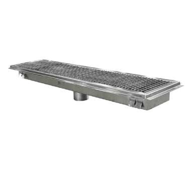 John Boos FTSG-1848 Subway Style Floor Trough 18'' x 48'' by John Boos