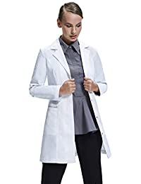 Dr. James Tailored Women's Fitted Lab Coat (33 Inch Length)