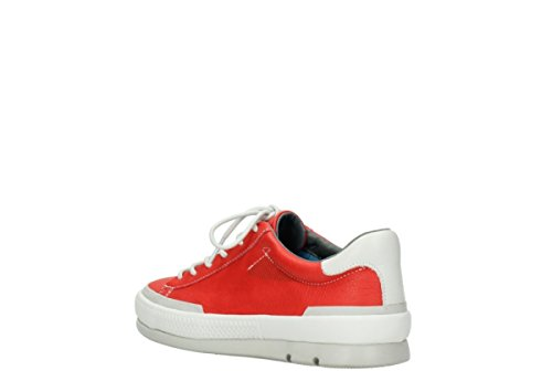 Trainers Wolky Katla Comfort 30500 Red Leather TwwZ0xq4