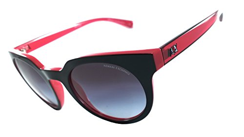 Armani Exchange Ax4062s 100% Authentic Women's Sunglasses Dubarry / Top Black 82148g