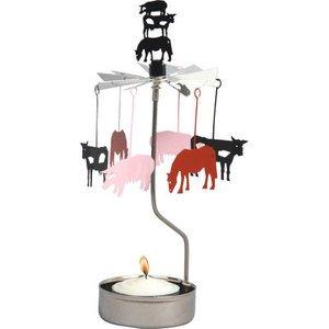 Farm Animals Rotary Candleholder