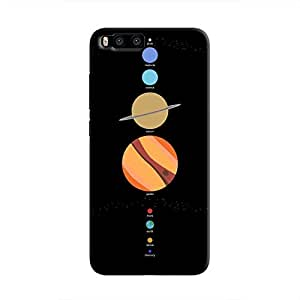Cover It Up - School Project Planets Mi6 Hard Case