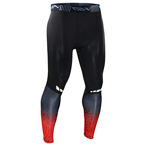 2b6eaf1d8c313e AGROSTE Men's Compression Pants Baselayer Cool Dry Running Workout Leggings  Active Tights PLT10/PLT11