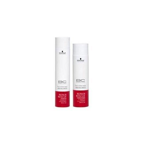 (Schwarzkopf Bonacure Repair Rescue Shampoo (8.5oz) & Conditioner (6.8 oz) Duo)