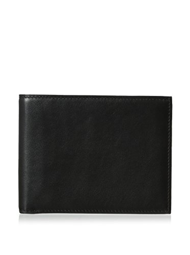 bosca-mens-executive-id-wallet-black-one-size