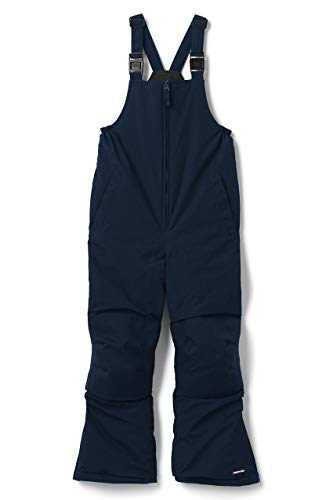 Lands' End Kids Squall Waterproof Iron Knee Bibs, Radiant Navy, 8 from Lands' End