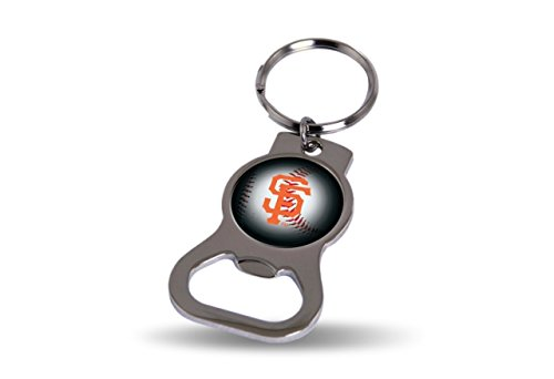 San Francisco Giants Keychain - Rico San Francisco Giants Official MLB 3 inch Bottle Opener Key Chain Keychain 747831