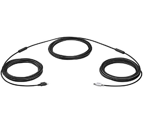 Logitech Standard Camera Extension Cable Black (939-001490)