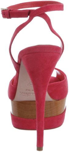 Sebastian WOMAN'S SHOE S5202 CAMCOR - Sandalias de tela para mujer Rosa
