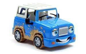 Chevron Cars Frankie 4-Wheeler with Removable Roof, 2 Piece Set (Chevron Car)