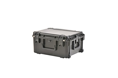 SKB 3I-2217-10BD Injection Molded Water-tight Case 22 x 17 x 10.5 Inches with wheels and Gray Dividers by SKB