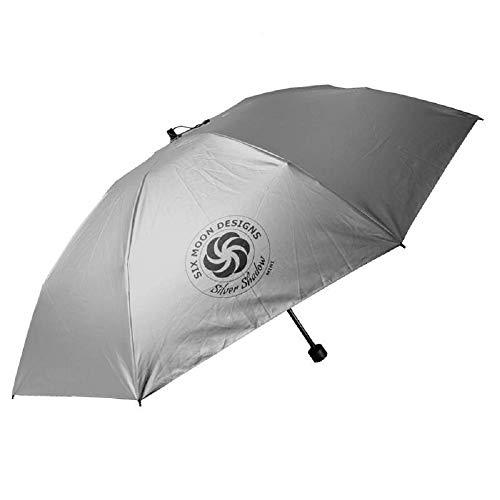 Six Moon Designs Silver Shadow Mini Umbrella/Ultralight 6.8 oz/Collapsible & Compact