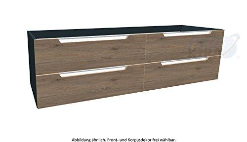 Pelipal Solitaire 7020 Waschtischunterschrank / 7020-WTUSL 06 / Comfort E / 170x48x50,5cm / A+