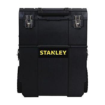 stanley stst18612 2 in 1 mobile workshop   tool bags