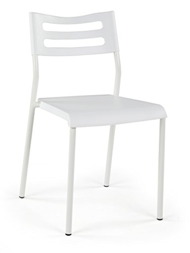Lucky Theory Metal Chair (White)