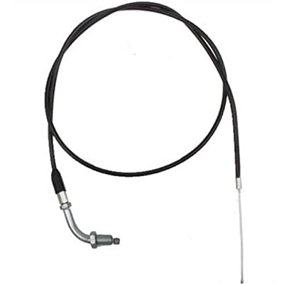 45 inch Throttle Cable Hook style (41 in sleeve) For 110cc,125cc, 150cc Dirt Bike, Pit bikes: Toys & Games