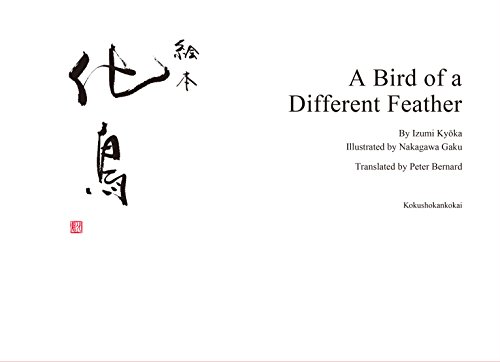A Bird of a Different Feather A Picture Book