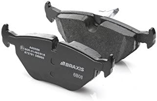 Set of 4 BRAXIS AA0015 Bremskl/ötze Hinten