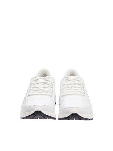 Neil Barrett Herren PBCT200F900003 Weiss Stoff Sneakers